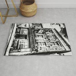 Prospect of  Whitby Pub London 1520 art Rug