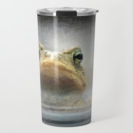 Frog from Front Painting Style Travel Mug