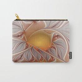 Temperament, Abstract Fractal Art Carry-All Pouch