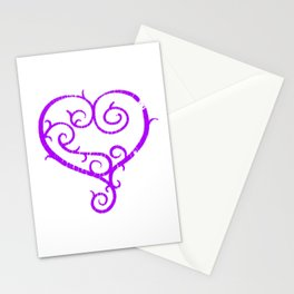 GO. LIVE. NOW. heart logo Stationery Cards