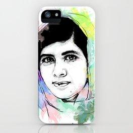 Malala Yousafzai iPhone Case