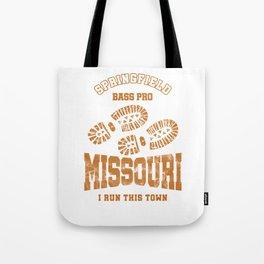 Missouri Runners I Run This Town Cross Country Runner Tote Bag