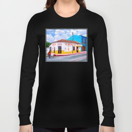 Tacos For Lunch In Chiapas Mexico Long Sleeve T-shirt