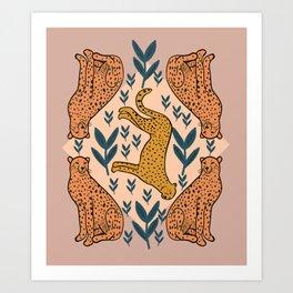 Wildcat Cheetah Art Print
