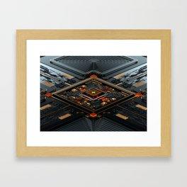 X-CHIP SERIES 01 Framed Art Print