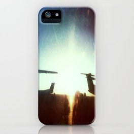 Sea-Tac At Sunset iPhone Case