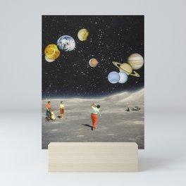 Cosmic Golf Mini Art Print