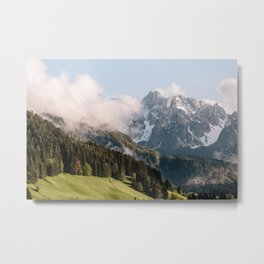 Berchtesgaden Alps  Metal Print
