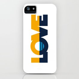 LOVE - People's Flag of Milwaukee iPhone Case