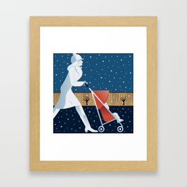 Park Slope Framed Art Print