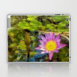 Stunning waterlily Laptop & iPad Skin