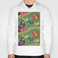 rio Hoodies featuring Rio 002 by Maca Salazar