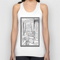 puppies Tank Tops featuring Corgi puppies by Agy Wilson