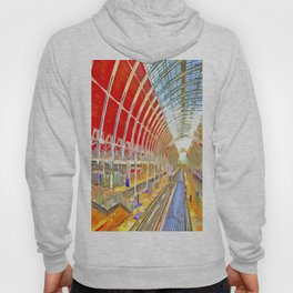Paddington Railway Station Pop Art Hoody