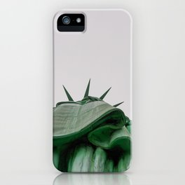 New York City: Statue of Liberty (Color) iPhone Case