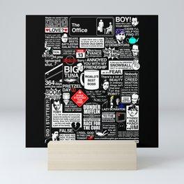theoffice Mini Art Print