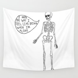 Joyce Manor Skeleton Wall Tapestry