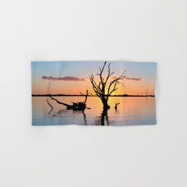 Sunset Silhouette Hand & Bath Towel