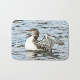 Baby loon all grown up Bath Mat