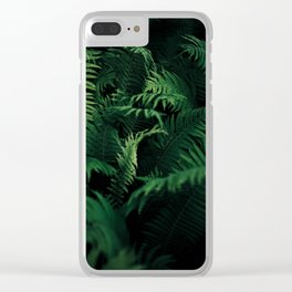 Green nature Clear iPhone Case