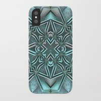 snowflake iPhone & iPod Cases featuring Snowflake by Lyle Hatch
