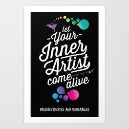 Let your inner artist come alive! Art Print