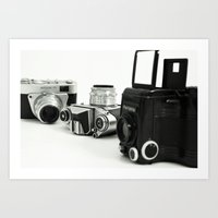 cameras Art Prints featuring cameras by Falko Follert Art-FF77