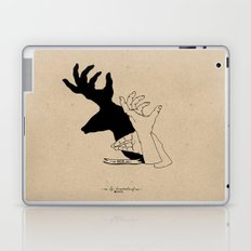 Hand-shadows Laptop & iPad Skin