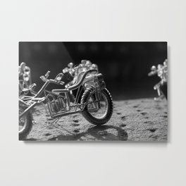 Firenze Motorcycle Metal Print