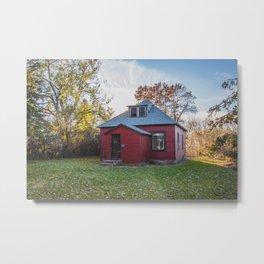 Abandoned House, Chaseley, North Dakota 3 Metal Print