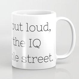 Don't talk - Sherlock - TV Show Collection Coffee Mug