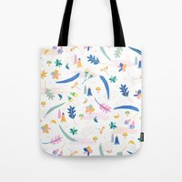 australia Tote Bags featuring Australia by Brigitte Huynh