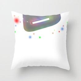 Storm Spectrum Throw Pillow