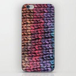 Rainbow Stitches iPhone Skin