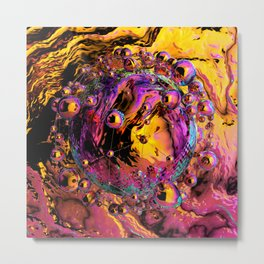 Liquid dream Metal Print