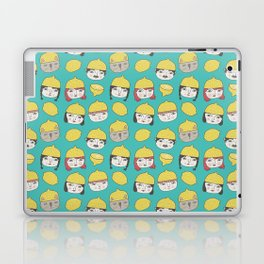 Pattern Project #10 /Lemon Hats Laptop & iPad Skin