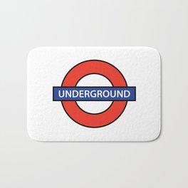 London Underground Bath Mat
