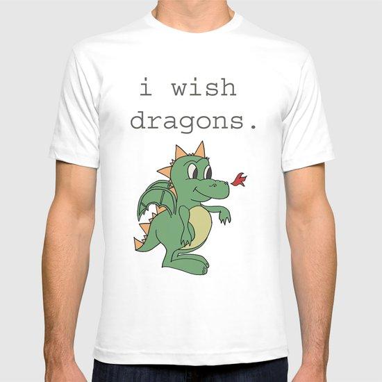 I wish dragons T-shirt