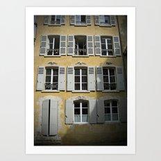 Maison Chartres Art Print