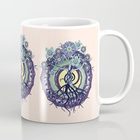 buddhism Mugs featuring Tree of Knowledge by DebS Digs Photo Art