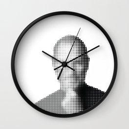 Jobs Abstract Portrait Wall Clock