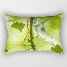At the vineyard Rectangular Pillow