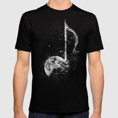 Melodie de la Lune Black 2X-LARGE Mens Fitted Tee