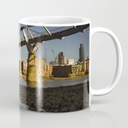 Milennium Bridge London Coffee Mug