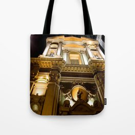 The Grand Church of Vieux Nice Tote Bag