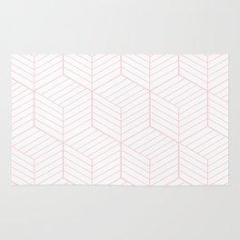 ZADA ((pastel pink)) Rug