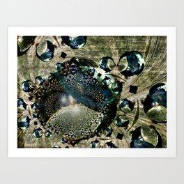looking-glass planet Art Print