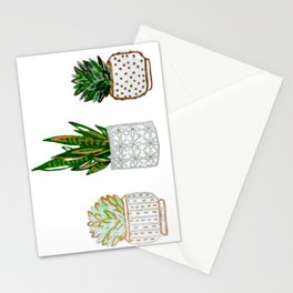 Succulent Snake Card Stationery Cards