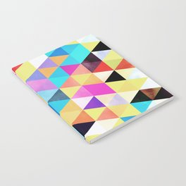 Vivid Pattern XV Notebook