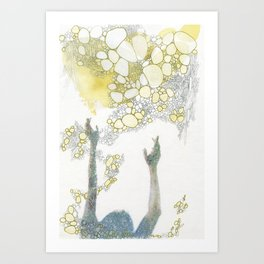 Gather Art Print